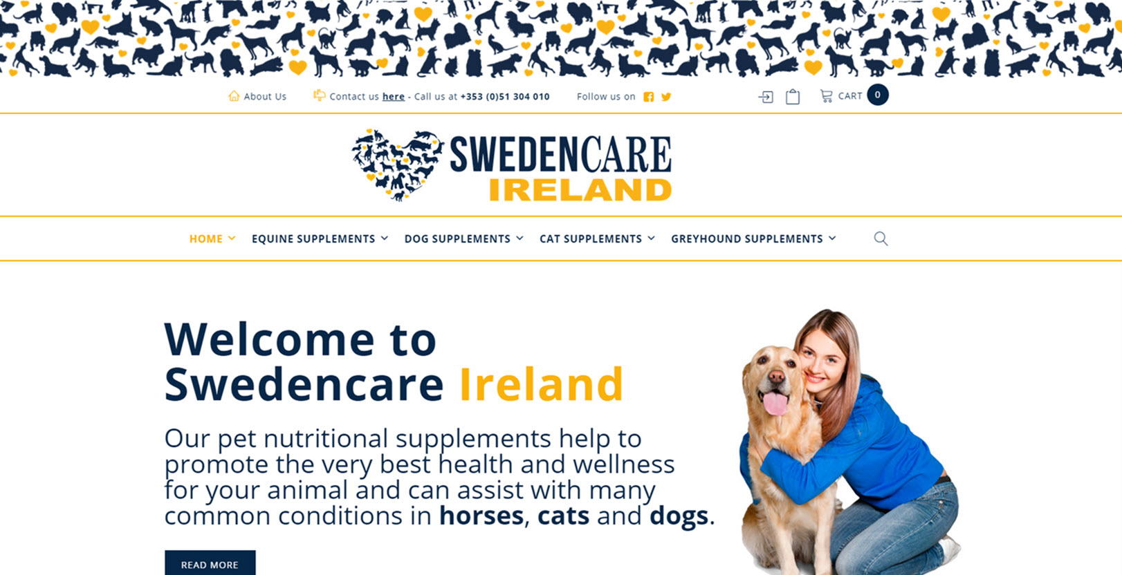 Webshop-made-by-Eazy-Office-Swedencare-Ireland